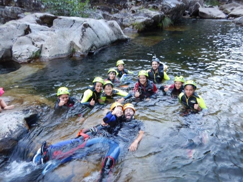Canyoniers in El Verdugo
