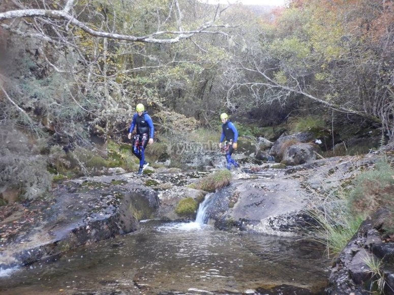 Walking through the Cortella ravine
