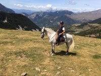 2-Hour Horse Riding in the Montseny + Class
