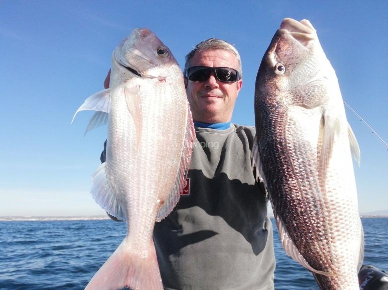 Pasa un dia de pesca