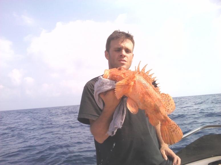 Una jornada de pesca