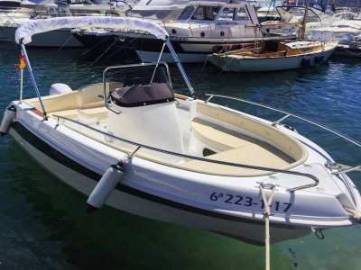 Half A Day Boat Rental w/o Qualifications Altea