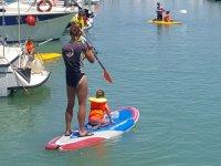 Paddle surf en el Club Náutico