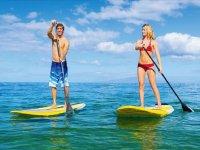 Paddle surf en pareja