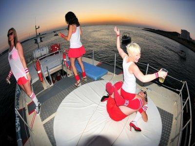 在伊维萨岛举行私人游船派对3小时