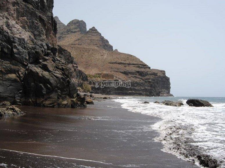 大加那利岛海岸