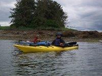 Navegando con el kayak