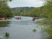 En Pontevedra con el kayak