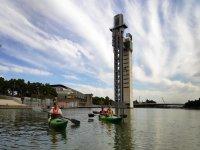 Kayak individual o biplaza en Sevilla