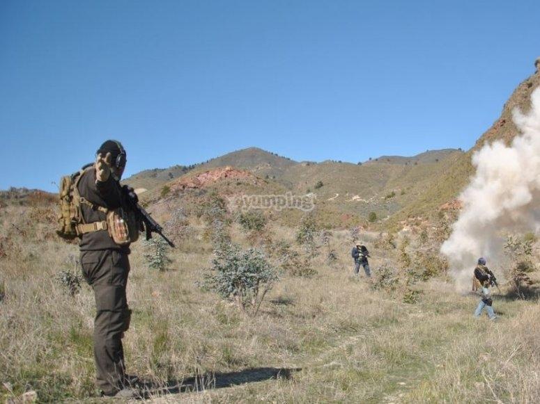 洛尔卡气枪领域的方向