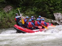 Rafting in the Sella