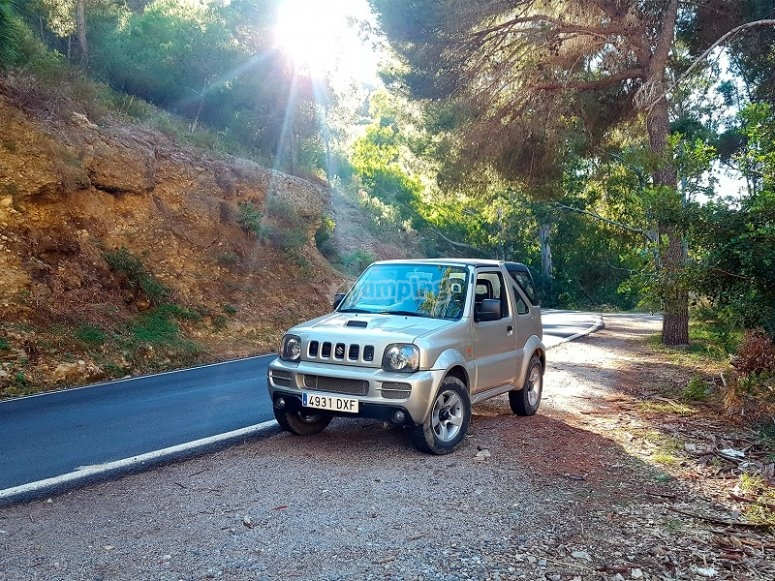 Excursion en vehiculo 4x4 en Malaga