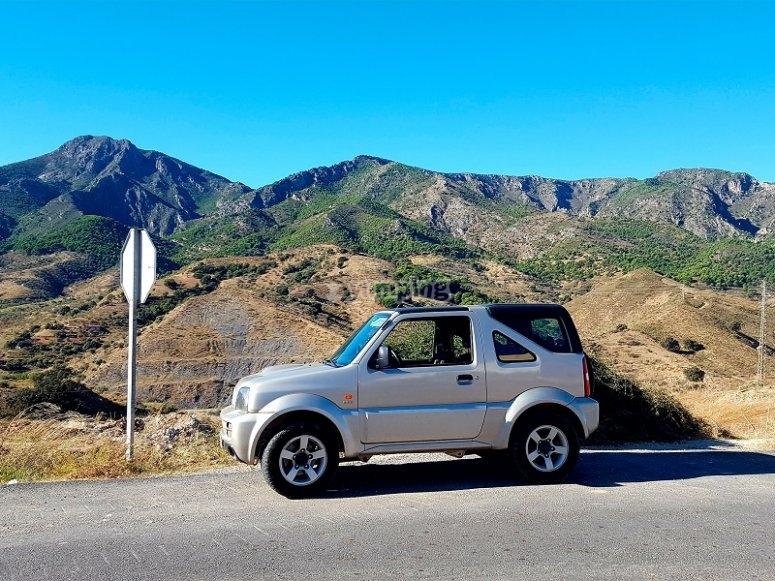 Ruta en 4x4 en Malaga
