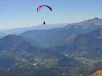 Flight experience near the Pyrenees