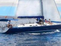 乘帆船穿越大西洋