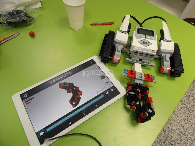 Talleres de programacion y robotica en Madrid