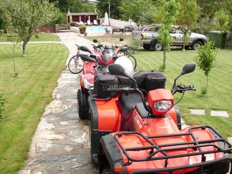 Conduce un quad