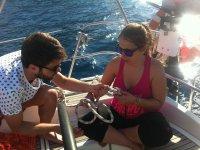 Aprendiendo nudos marineros
