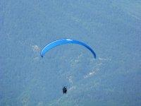 Paraglide flight in Castejon de Sos