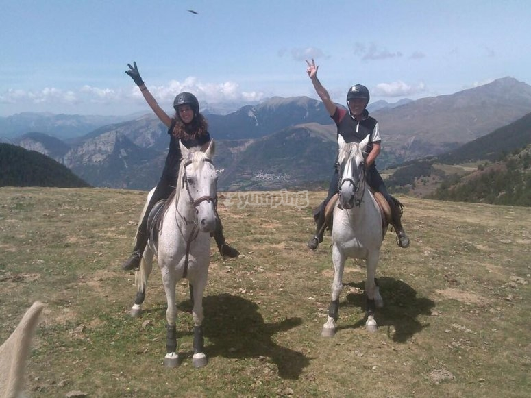 Excursion a caballo en Cardedeu