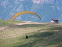 Paraglide Flight in Rials Benasque Valley