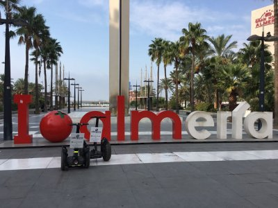 Route By a Segway Through the Seafront Almería