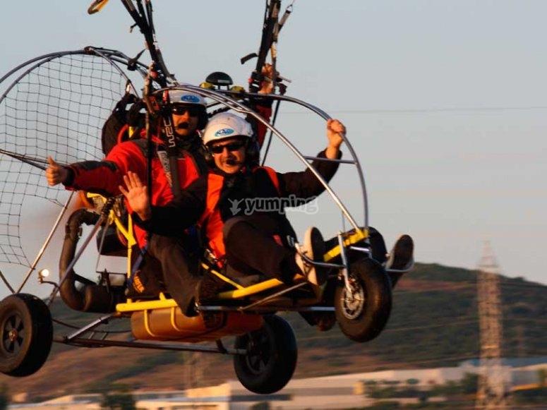 Ven a volar en parapente en La Rioja