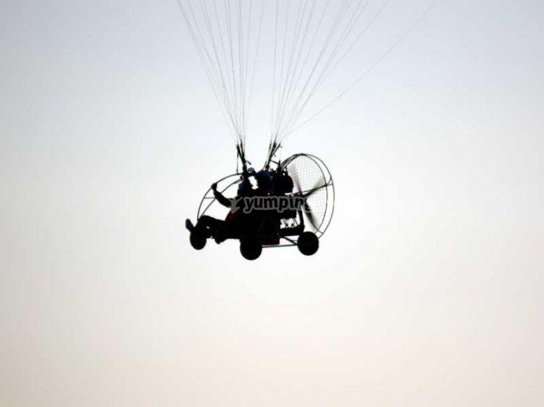 Volar en paratrike en La Rioja