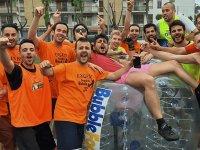 Celebracion con gymkana en Paracuellos