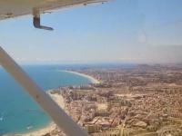 Vistas aéreas desde avioneta