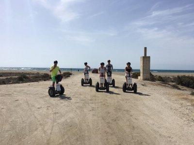 Combined Segway Tour in Roquetas de Mar 1´30m