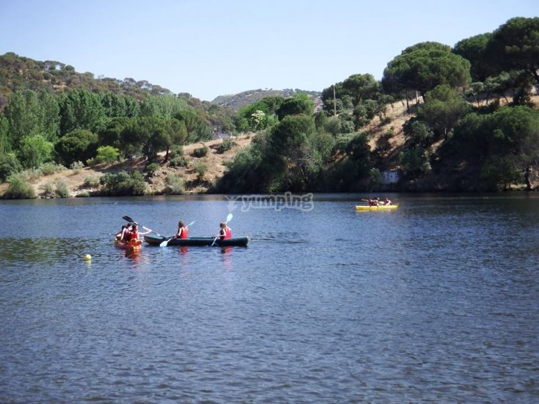 Alquiler de kayak en pantano de San Juan