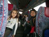 在公共汽车