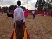 Bullfighting with Tents & Appetizers and 1 Heifer