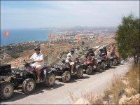 Itinerarios en quad por la costa