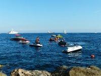 水上摩托车到Isla de Lobos与浮潜