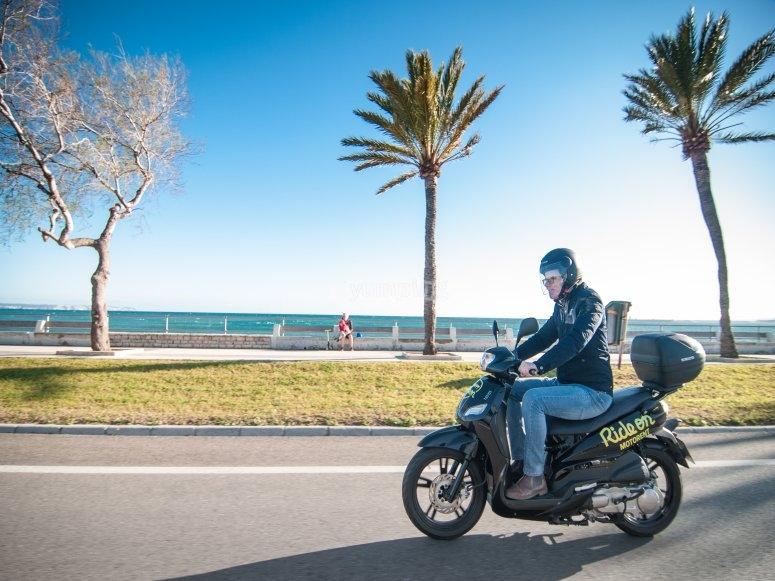 Motorbike route