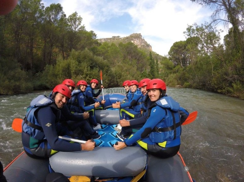 Rafting in Jaen for bachelor parties