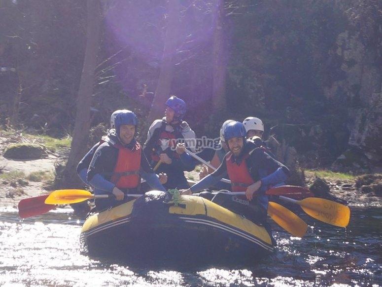 Rafting in the Barco de Avila