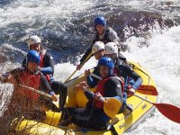 Rafting through rough waters Tormes