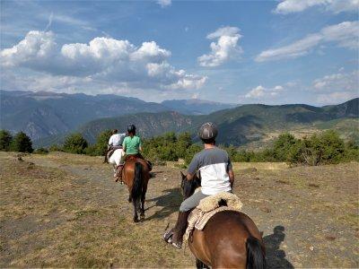 Ruta a caballo con alojamiento en Lleida 2 días