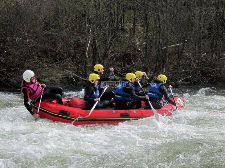Discesa a Rafting a Gredos