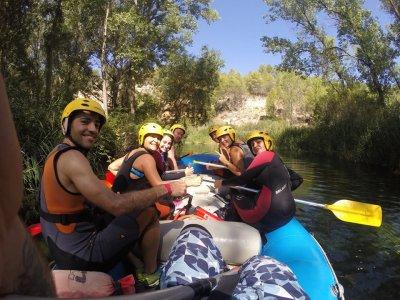 Descenso de rafting río Guadiela y 2 noches hotel
