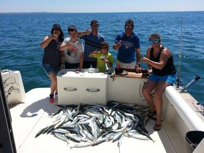 Taller de pesca ligera Isla Cristina media jornada