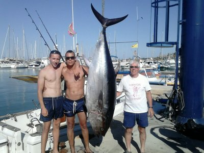 Gigantic Tuna Fishing in Denia Full Day