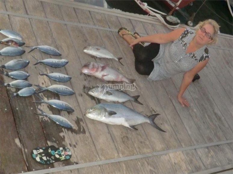 Pesca di fondo a Denia