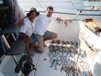 钓鱼停泊在Isla Cristina 6小时