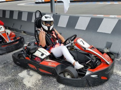 Karting round in Benidorm adulti 8 minuti