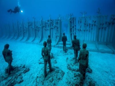 2 inmersiones buceo Museo Atlántico no buceadores