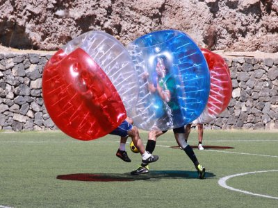 1-Hour Bubble Soccer Game in Radazul